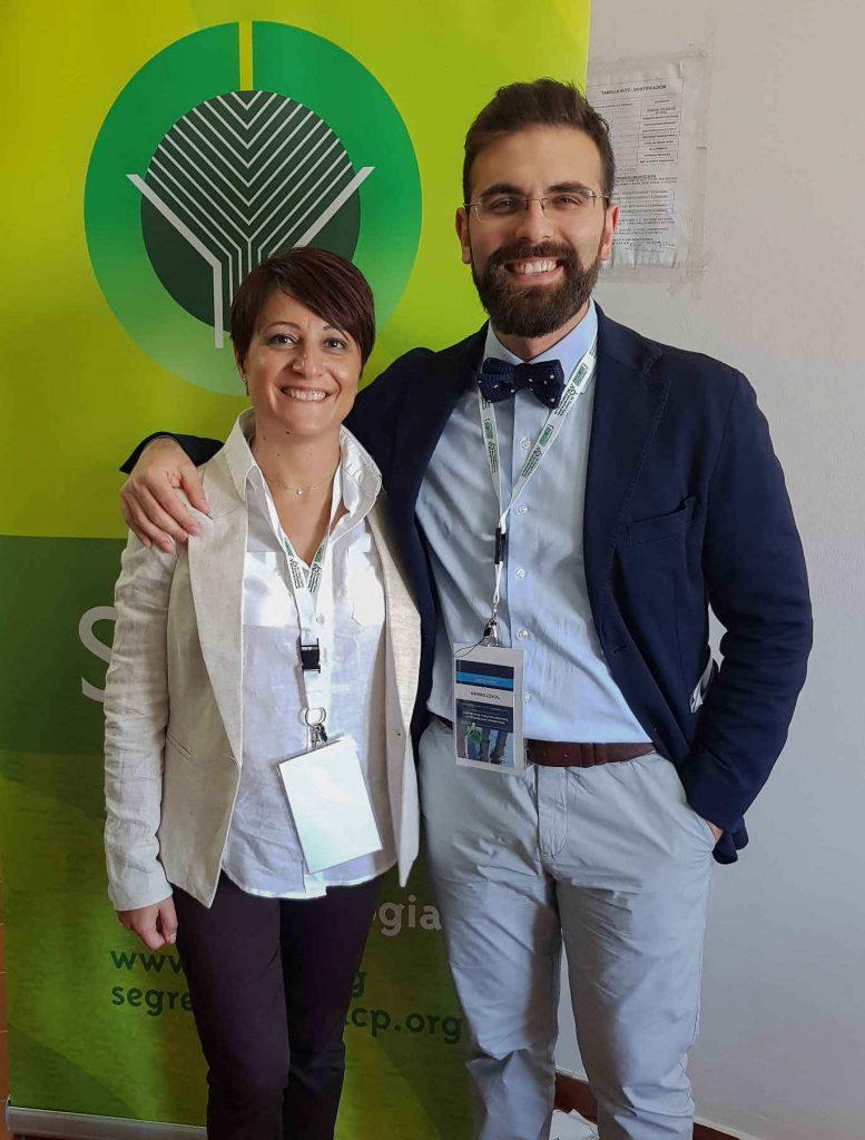 con la Dr.ssa Bernardina Fabiani al Congresso SIUCP Napoli 2017