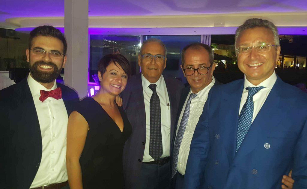 con Dr.ssa B. Fabiani, Dr. G. Naldini e Dr. Longo (inventore della nuova tecnica per le emorroidi) al Congresso SIUCP Napoli 2017