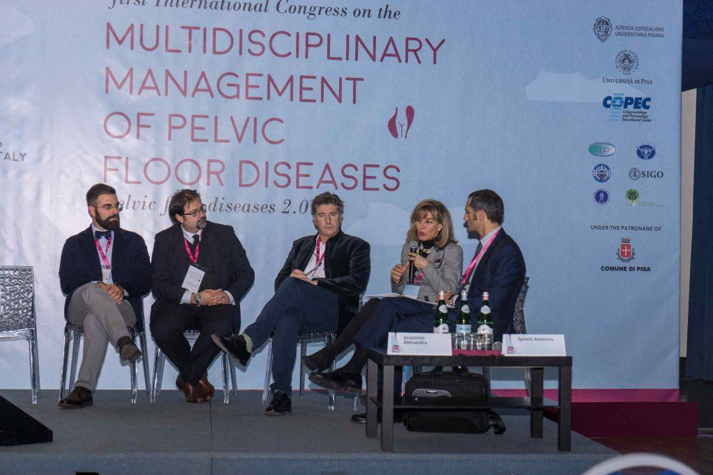 tavola rotonda al Congresso internazione sui disordini del pavimento pelvico con relazione del Dr. Alessandro Sturiale 2016