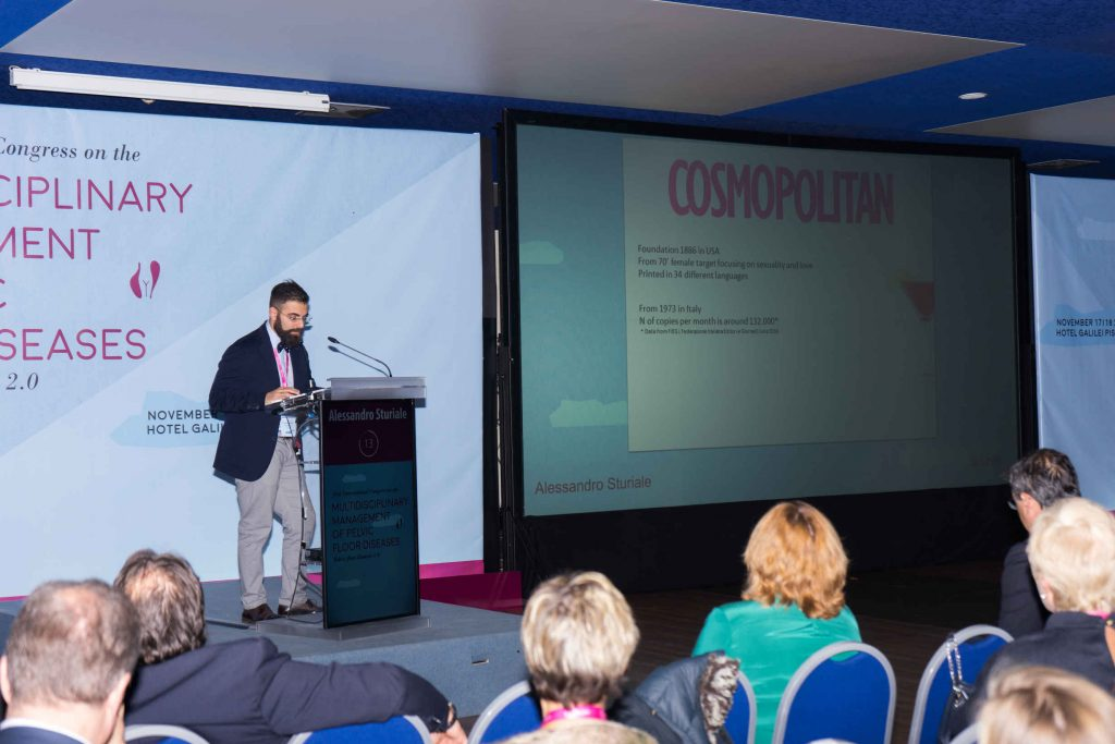 Dr. A. Sturiale espone al Congresso internazione sui disordini del pavimento pelvico 2016