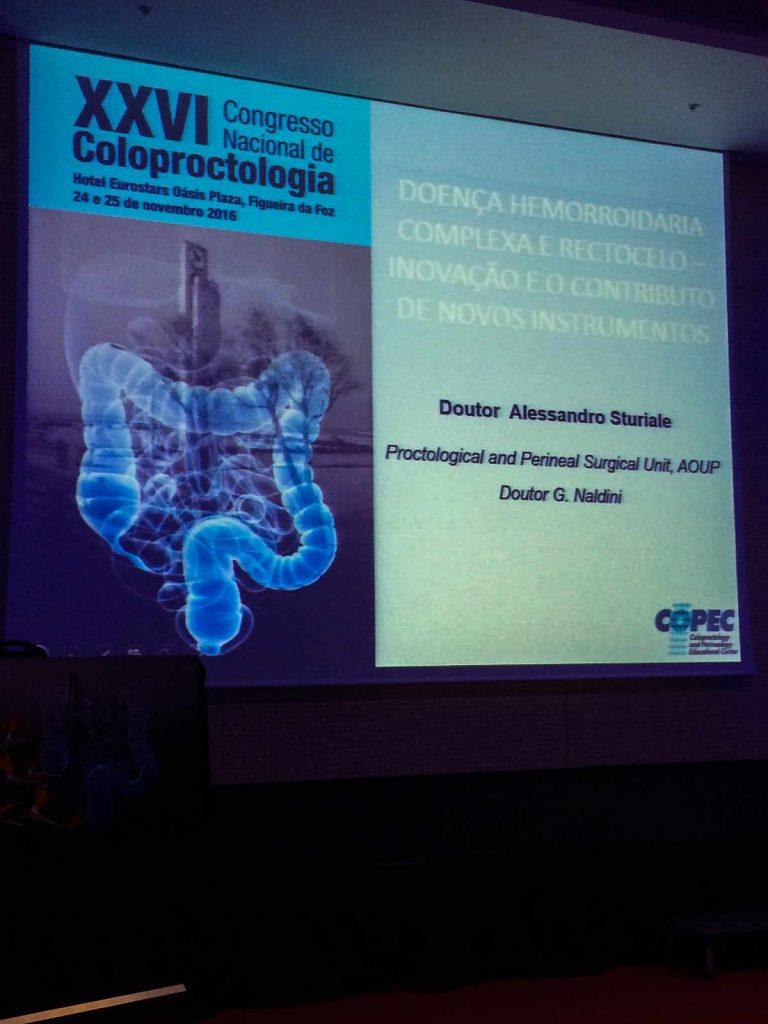 Congresso nazionale societa portoghese coloproctologia 2016