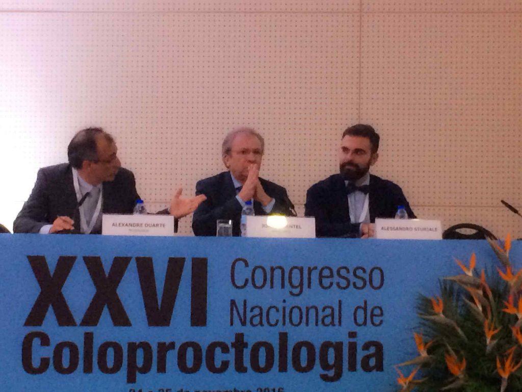al Congresso nazionale societa portoghese coloproctologia 2016