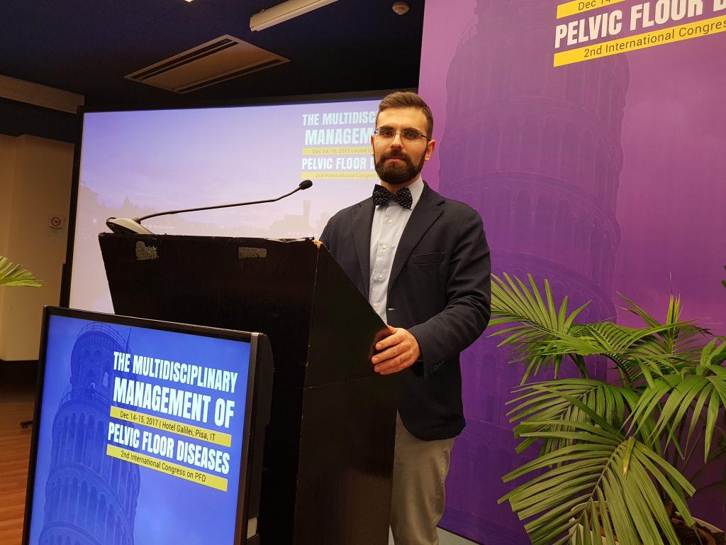 Dr. Sturiale al secondo congresso internazionale sulla gestione multidisciplinare dei disordini del pavimento pelvico