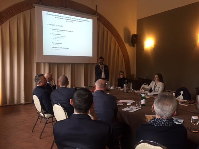 Dr. Sturiale al meeting internazionale sull'applicazione del LIPOGEMs per fistole anali