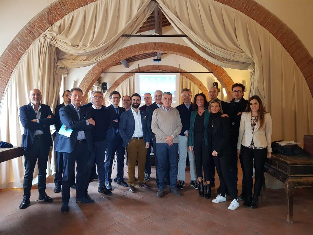 Dr Sturiale con il gruppo internazionale per discutere dell'applicazione del lipogems su fistole anali