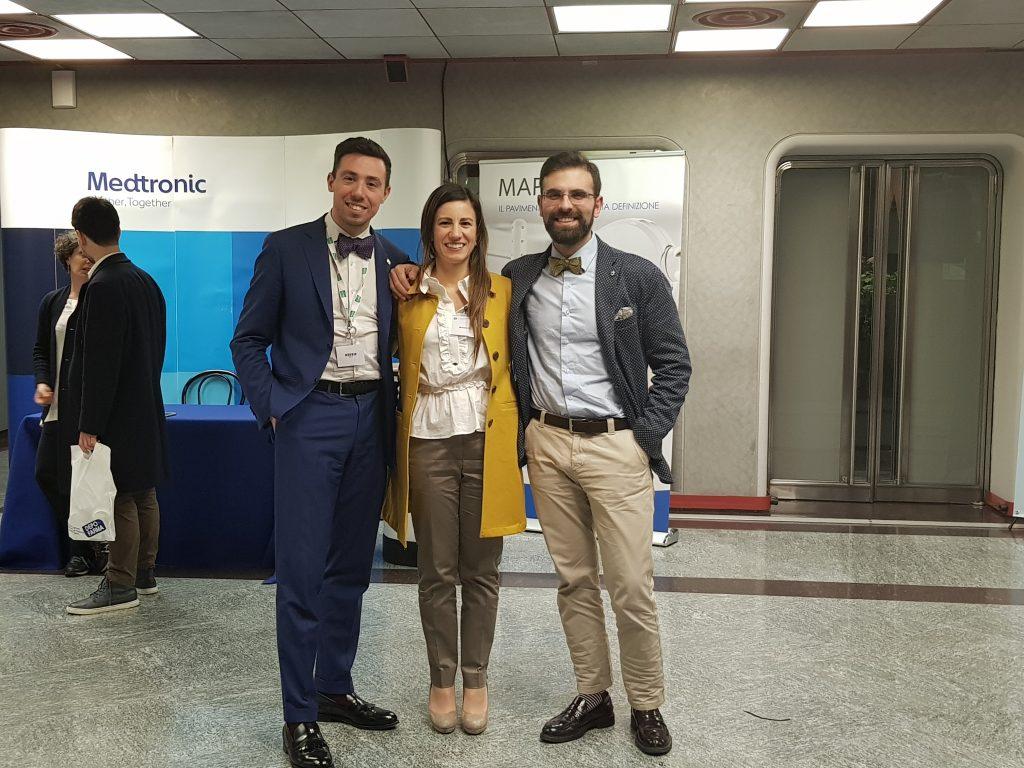 Dr. Sturiale con Dr. Gallo e Dr.ssa Moggia