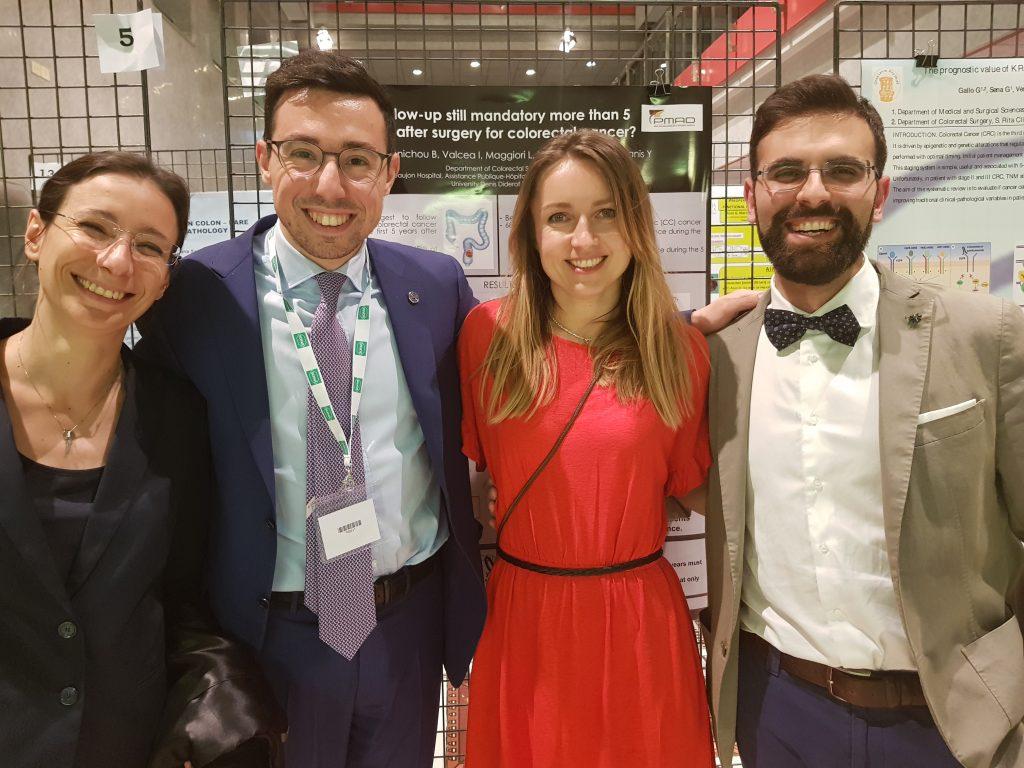 Dr. Sturiale con i colleghi della Y-SICCR