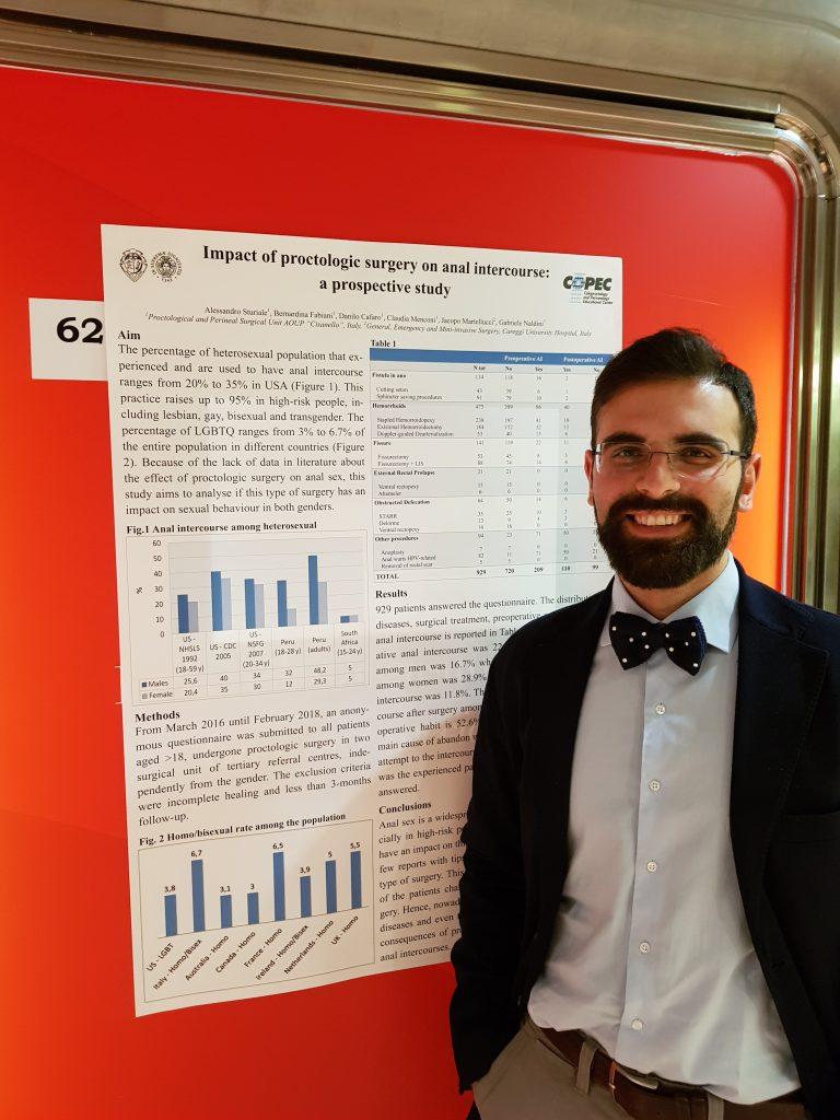 Dr. Sturiale ha presentato il recente studio al congresso IMOC2018